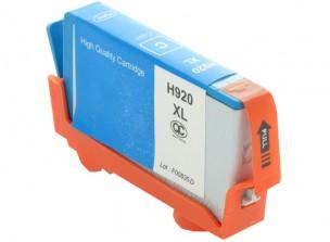 HP CD972AE - Cartouche d'encre compatible cyan 920XL