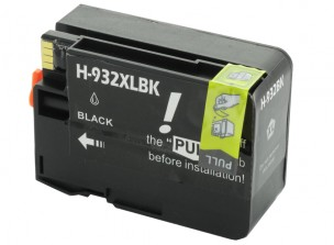 HP CN053AE - Cartouche d'encre compatible noire 932xl