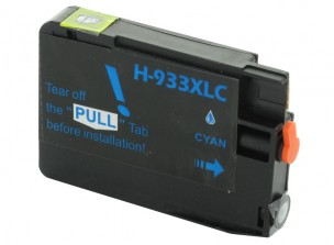 HP CN054AE - Cartouche d'encre compatible cyan 933xl