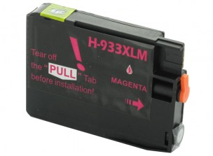 HP CN055AE - Cartouche d'encre compatible magenta 933xl