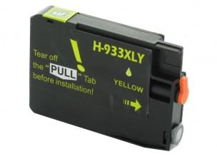 HP CN056AE - Cartouche d'encre compatible jaune 933xl