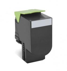 Lexmark 80C2HK0 - Cartouche toner compatible noir