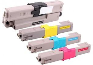 Oki 44469803, 44469706, 44469705, 44469704 - Pack de 4 toners compatibles 4 couleurs