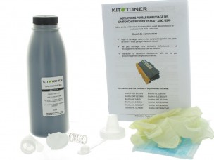 Brother TN3480 - Kit de recharge toner compatible