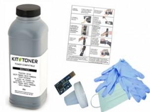 Dell 59310258 - Kit de recharge toner compatible Noir  DT615