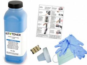 Epson S050592 - Kit de recharge toner compatible cyan