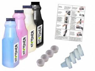 Konica 1710517008, 1710517006, 1710517007, 1710517005 - Kit de recharge toner compatible 4 couleurs