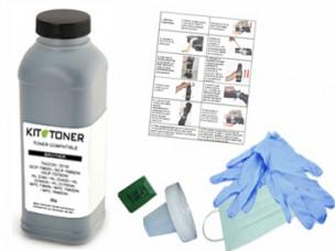 Oki 44318608 - Kit de recharge toner compatible Noir
