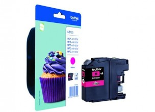 Brother LC123M - Cartouche d'encre magenta LC123M