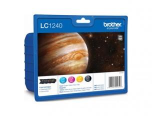 Brother LC1240VALBP - Pack de 4 cartouches d'encre LC1240VALBP