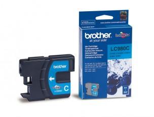 Brother LC980C - Cartouche d'encre d'origine cyan