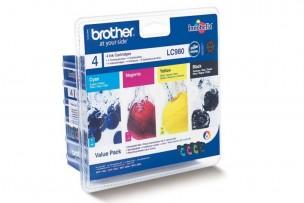 Brother LC980VALBP - Pack de 4 cartouches d'encre LC980VALBP