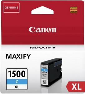 Canon PGI1500XLC - Cartouche encre origine cyan 9182B002