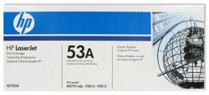 HP Q7553A - Cartouche de toner d'origine 53A