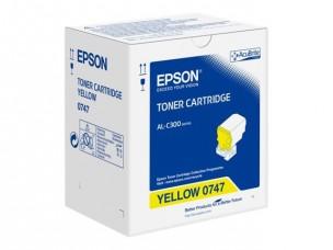 Epson S050747 - Cartouche toner jaune d'origine