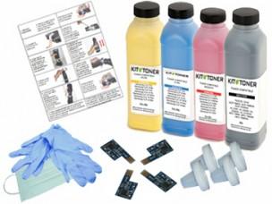 Lexmark 71B20Y0,71B20K0,71B20M0,71B20C0  - Kit de recharge toner compatible 4 couleurs