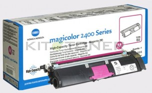 Konica 1710589006 - Toner d'origine magenta