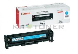 Canon 2661B002 - Cartouche toner d'origine cyan 718