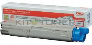 Oki 43459370 - Cartouche de toner magenta d'origine