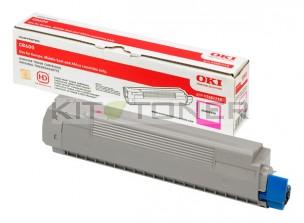 Oki 43487710 - Cartouche de toner magenta d'origine