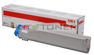 Oki 43837130 - Cartouche de toner magenta d'origine
