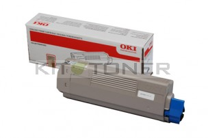 Oki 44059168 - Cartouche de toner noire d'origine