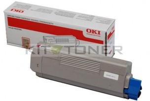 Oki 44315306 - Cartouche de toner magenta d'origine