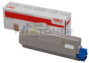 Oki 44315307 - Cartouche de toner cyan d'origine