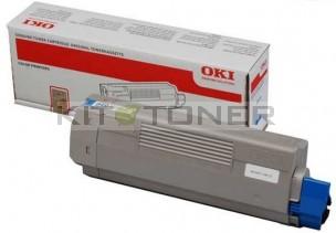 Oki 44318607 - Cartouche de toner cyan d'origine