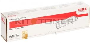 Oki 44643001 - Cartouche de toner d'origine jaune
