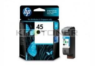 HP 51645G - Cartouche d'encre HP 45 noire