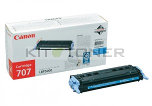 Canon 9423A004 - Cartouche toner d'origine cyan 707