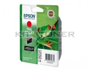 Epson C13T05474010 - Cartouche d'encre rouge originale T0547