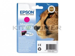 Epson C13T07134011 - Cartouche d'encre Durabrite magenta T0713