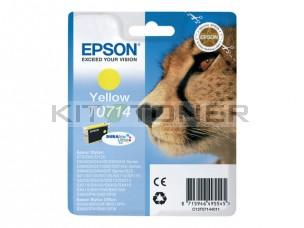 Epson C13T07144011 - Cartouche d'encre Durabrite jaune T0714
