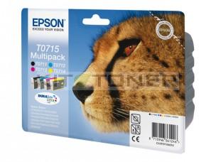 Epson C13T07154011 - Pack de 4 cartouches encre Epson T0715