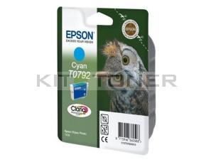 Epson C13T07924010 - Cartouche d'encre Epson Claria cyan T0792