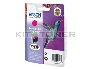 Epson C13T08034011 - Cartouche d'encre magenta Epson Claria T0803