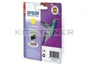 Epson C13T08044011 - Cartouche d'encre Epson Claria jaune T0804