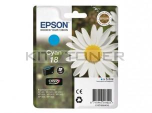 Epson C13T18024010 - Cartouche d'encre cyan de marque T1802