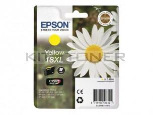 Epson C13T18144010 - Cartouche d'encre jaune Epson T1814