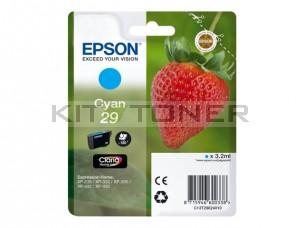 Epson C13T29824010 - Cartouche d'encre cyan 29 d'origine