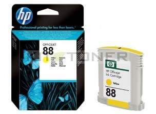HP C9388AE - Cartouche d'encre jaune de marque 88