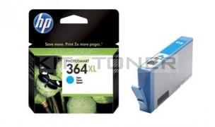 HP CB323EE - Cartouche d'encre cyan de marque HP 364XL