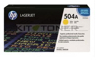 HP CE252A - Cartouche de toner HP d'origine jaune 504A