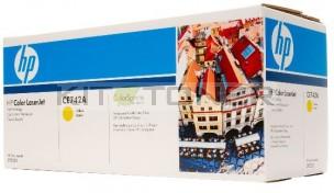 HP CE742A - Cartouche de toner d'origine jaune 307A