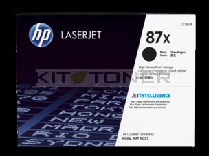 HP CF287X - Cartouche de toner noir d'origine 87X