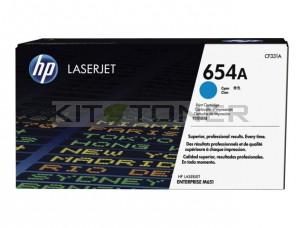 HP CF331A - Cartouche de toner cyan d'origine 654A