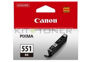 Canon CLI551BK - Cartouche d'encre noire Photo de marque 6508B001