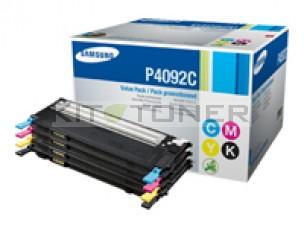 Samsung CLP4092C - Pack de 4 toners d'origine 4 couleurs